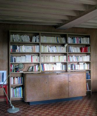 Woodmood biblioth ques - Bibliotheque en bois exotique ...